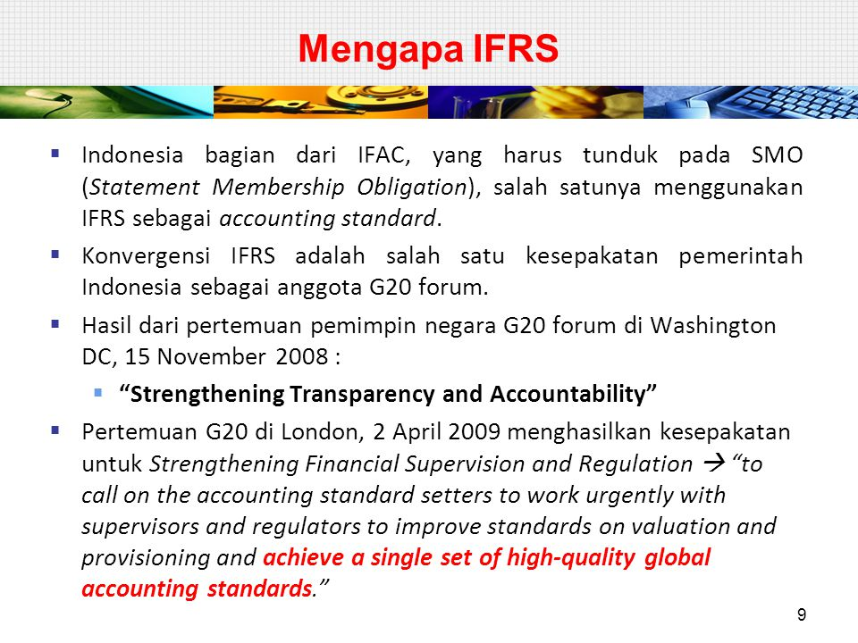 PSAK 24: Akuntansi Imbalan kerja  Ruang lingkup – tidak diatur imbalan berbasis ekuitas  PSAK 53  Program multipemberi kerja manfaat pasti yang ada perjanjian kontraktual bagaimana mendistribusi surplus/defisit.