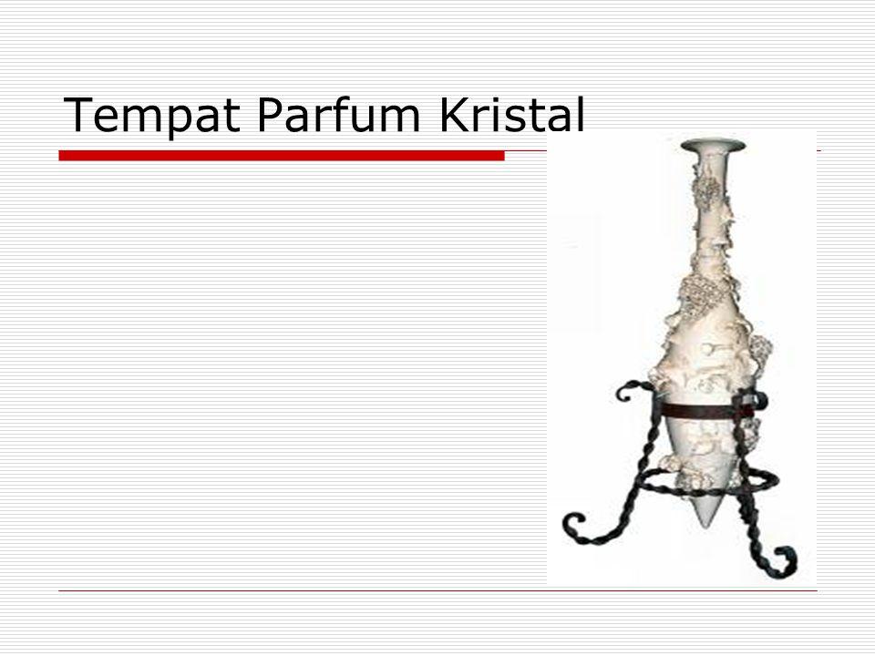 Tempat Parfum Kristal