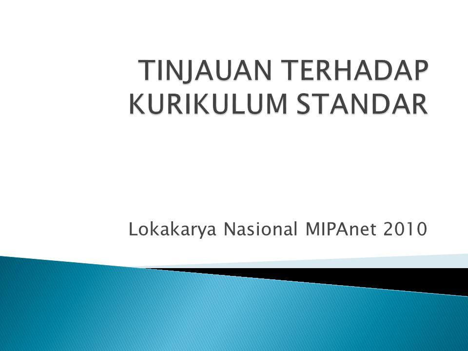Lokakarya Nasional MIPAnet 2010