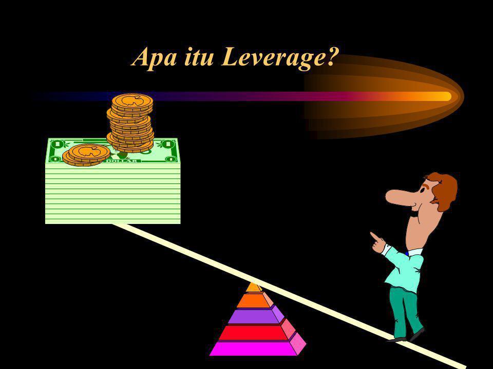 Degree of Financial Leverage (DFL) Financial leverage: penggunaan biaya tetap keuangan, dimana perubahan kecil pada laba operasi akan berakibat perubahan besar pada laba persaham (Earning perShare/EPS) Multiplier effect ini disebut degree of financial leverage.