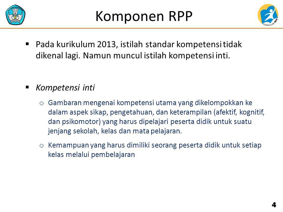 Prinsip Penyusunan RPP 1.Memperhatikan perbedaan individu peserta didik.