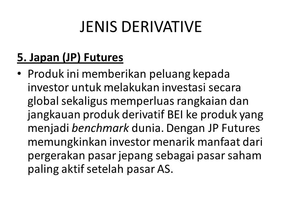 JENIS DERIVATIVE 5.