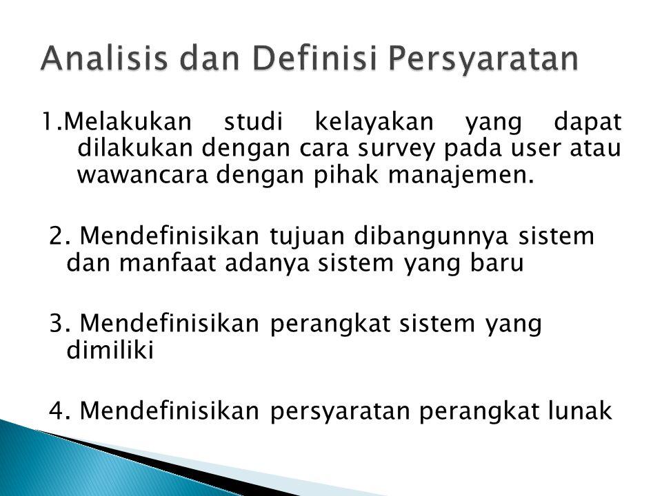  Untuk mempercepat proses pencarian data mahasiswa yang diperlukan suatu sistem jaringan  Perangkat lunak akan digunakan oleh bagian adm, mahasiswa dan dosen.