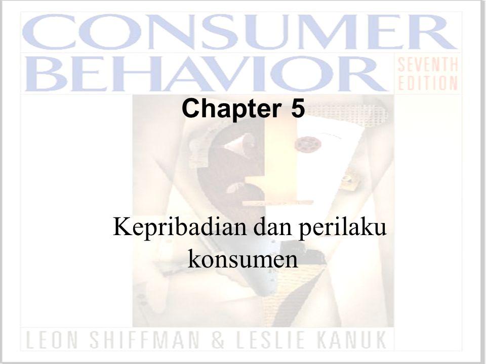 ©2000 Prentice Hall Chapter 5 Kepribadian dan perilaku konsumen