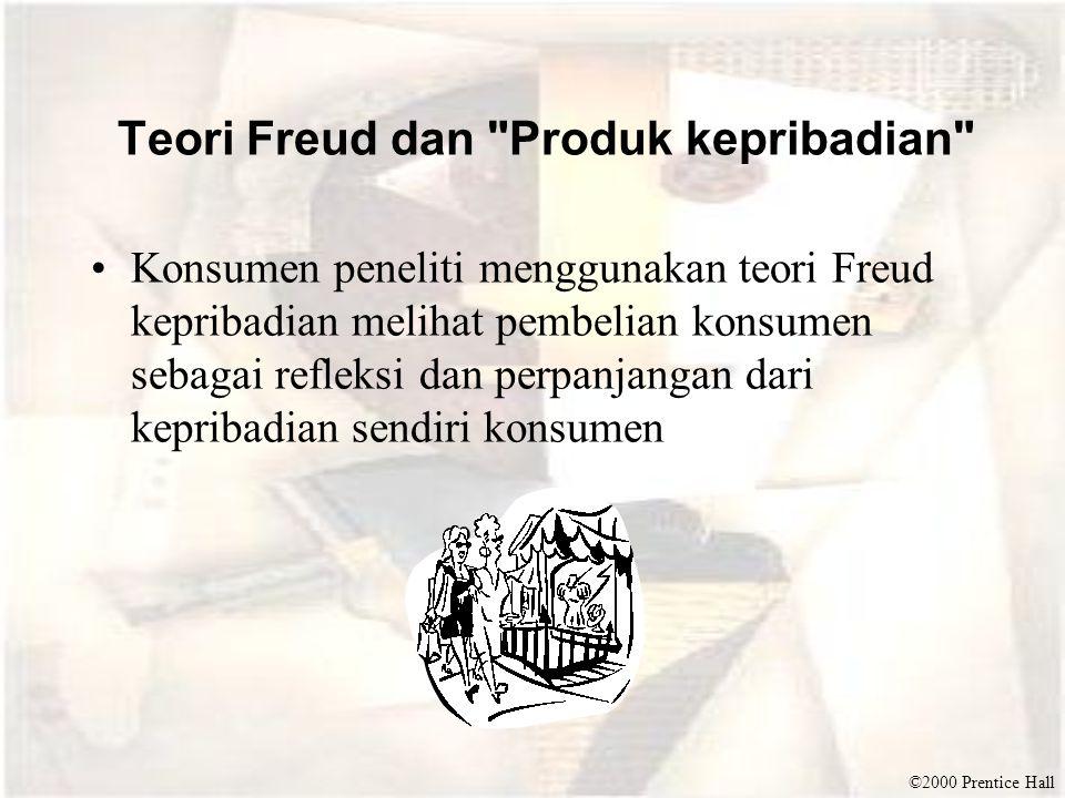 ©2000 Prentice Hall Teori Freud dan