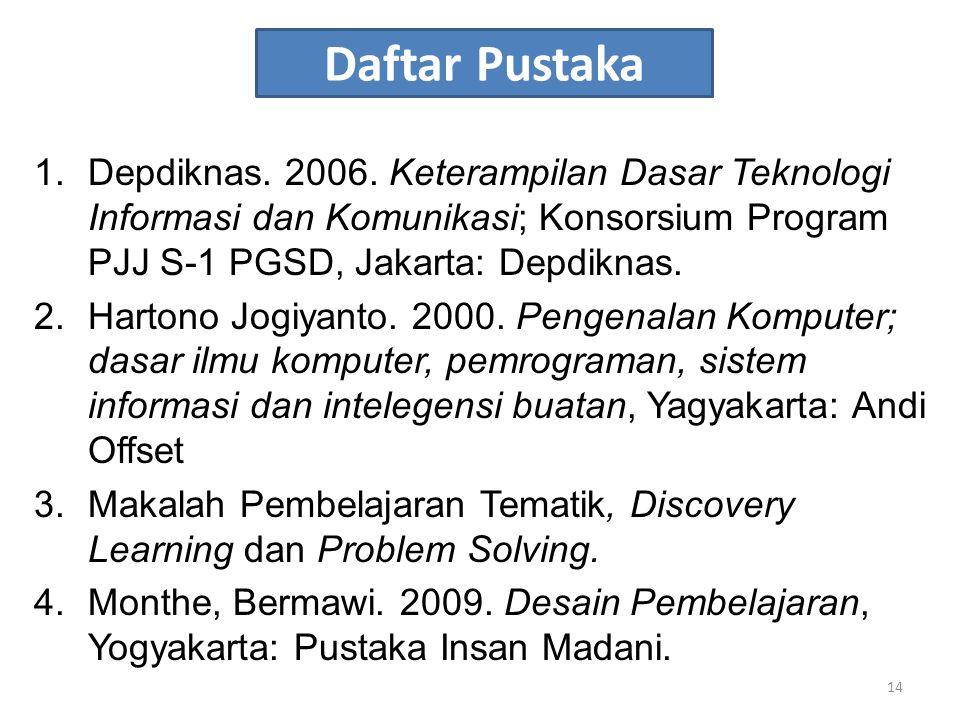 Daftar Pustaka 1.Depdiknas.2006.