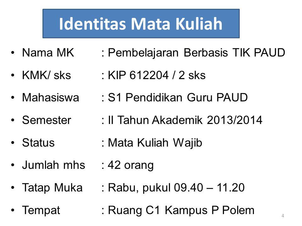 Daftar Pustaka 5.Munir.2009. Pembelajaran Jarak Jauh Berbasis TIK.