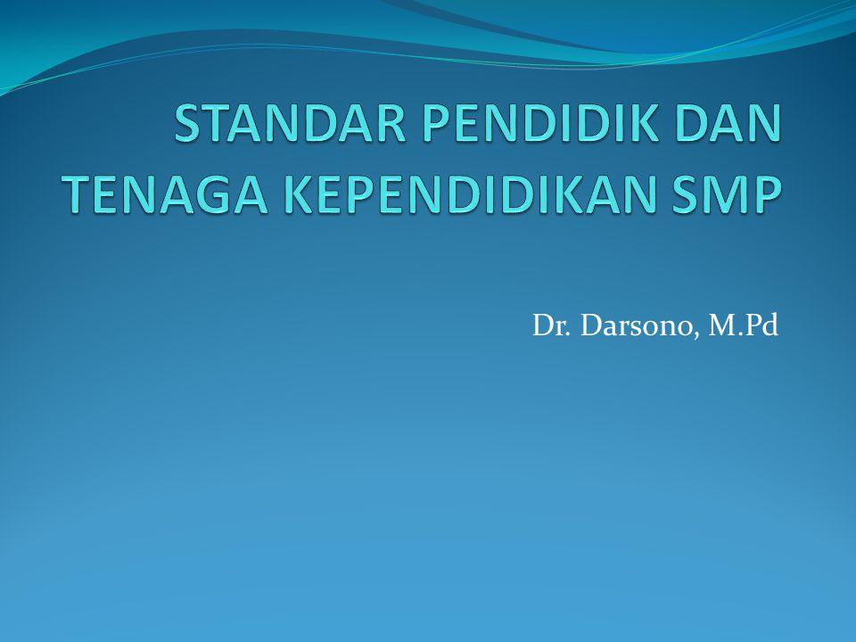 Dr. Darsono, M.Pd