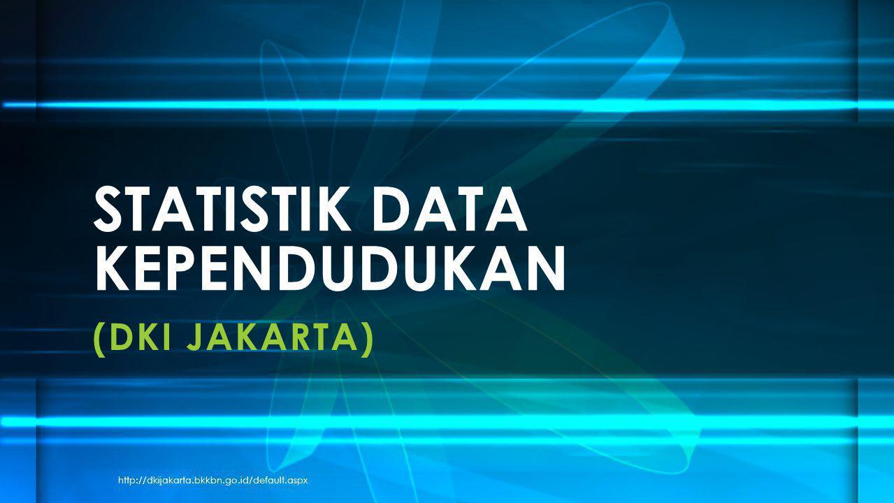 (DKI JAKARTA) STATISTIK DATA KEPENDUDUKAN http://dkijakarta.bkkbn.go.id/default.aspx