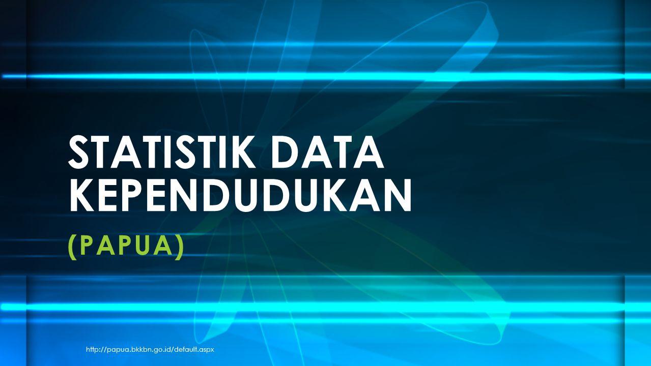 (PAPUA) STATISTIK DATA KEPENDUDUKAN http://papua.bkkbn.go.id/default.aspx
