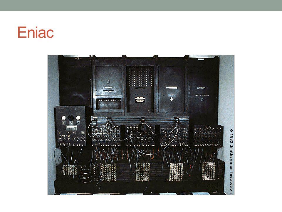IBM Punched-card processing equipment 1953 - the 701 IBM's first stored program computer Scientific calculations 1955 - the 702 Applikasi bisnis Mengeluarkan seri 700/7000