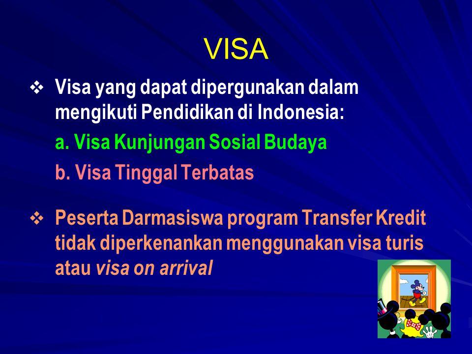 Visa Kunjungan Sosial Budaya 1.1.