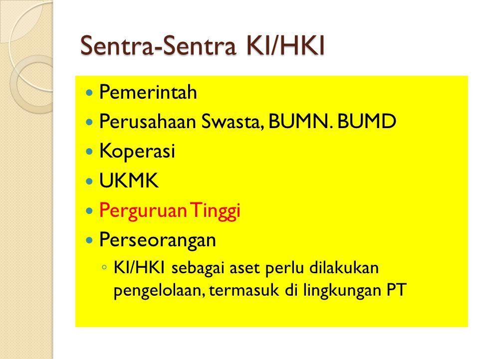 Manfaat Pengelolaan KI/HKI bagi Inventor  Penemu Formula Produk Kiranti adalah Prof.
