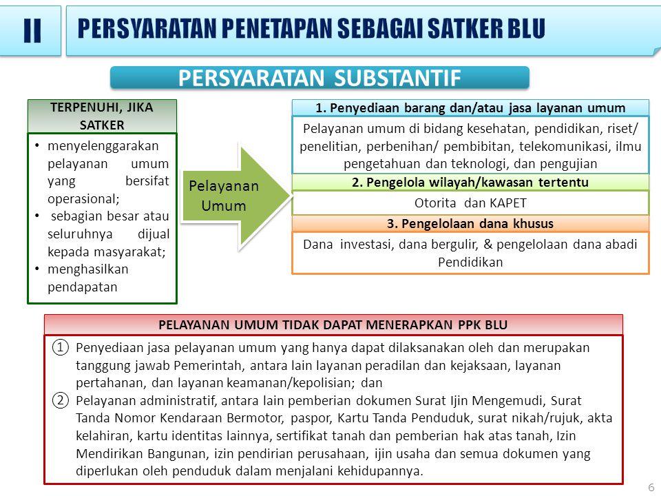 17 CONTOH 1.Tahun 2013 3 Satker mengajukan usulan menjadi Satker BLU.