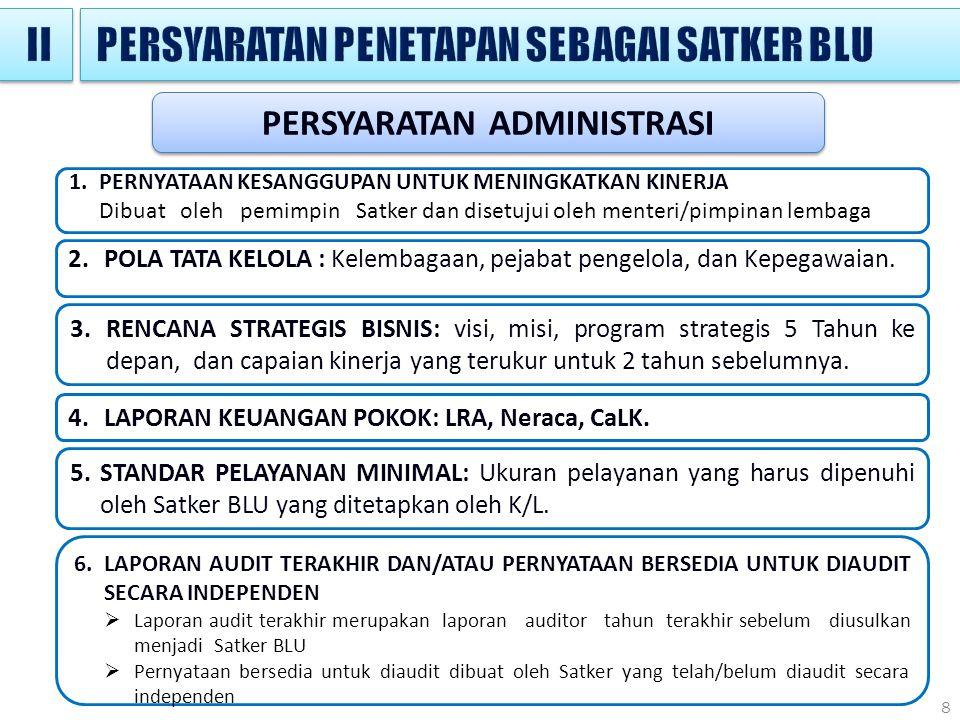 8 2.POLA TATA KELOLA : Kelembagaan, pejabat pengelola, dan Kepegawaian.