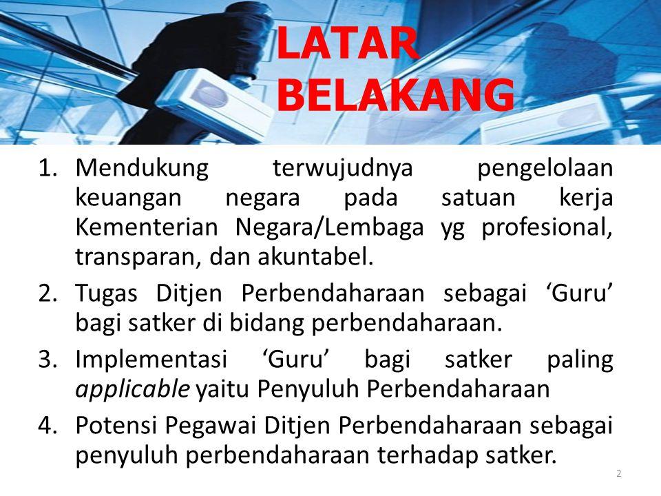 Direktorat Sistem Perbendaharaan Subdit Pengembangan Profesi Denpasar - 2011