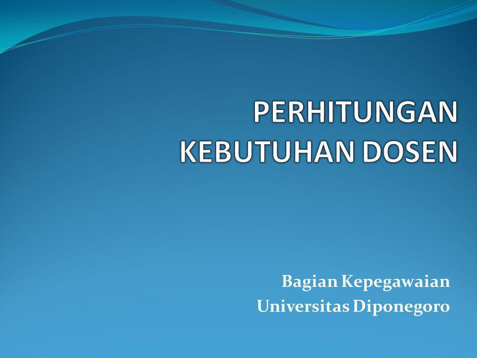 Bagian Kepegawaian Universitas Diponegoro