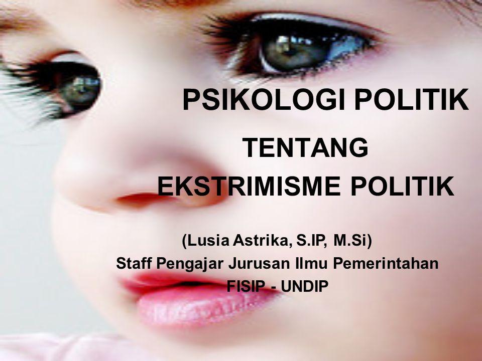 What is Ekstrimism?