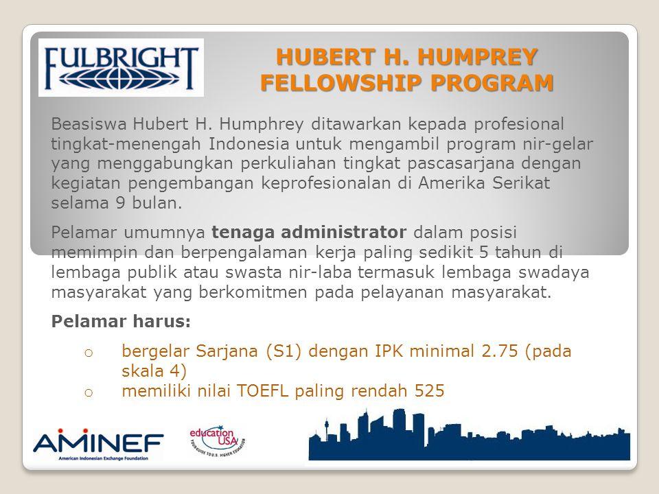 Beasiswa Hubert H.
