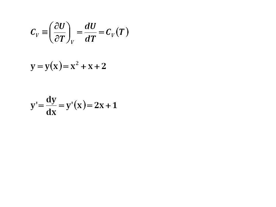 Kapasitas panas pada P konstan untuk gas ideal: Hubungan antara C V dan C P : C P = C V + R Untuk perubahan yang dialami oleh gas ideal: dU = C V dT dH = C P dT (2.17) (2.18) (2.14) (2.16)