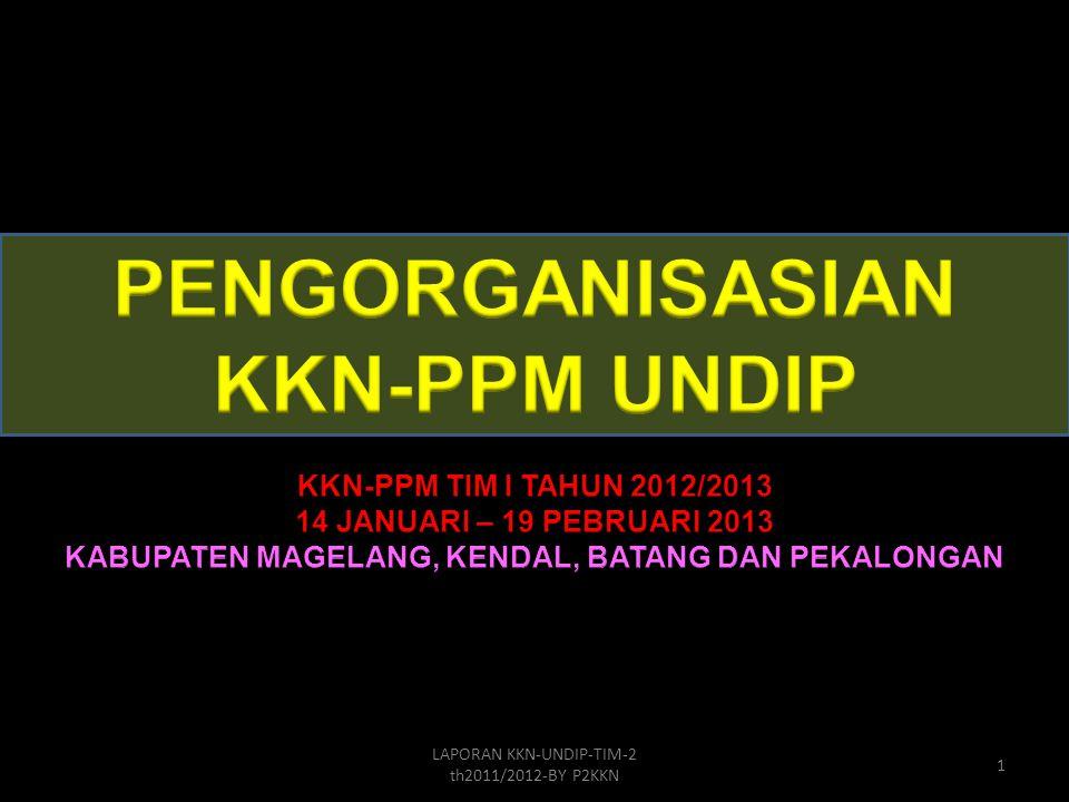 LAPORAN KKN-UNDIP-TIM-2 th2011/2012-BY P2KKN 1