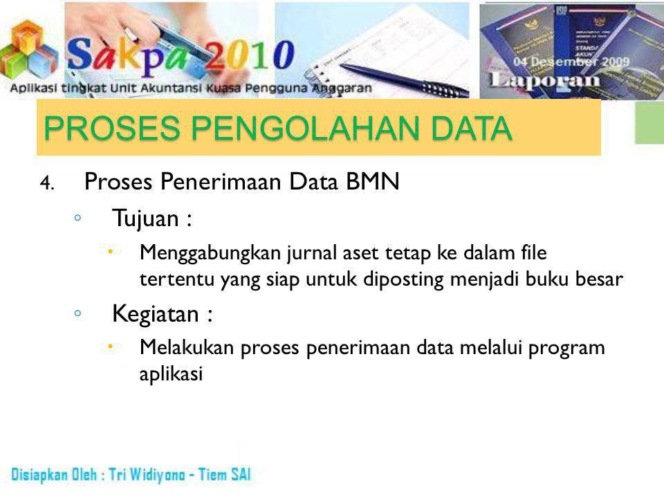 PROSES PENGOLAHAN DATA 4.