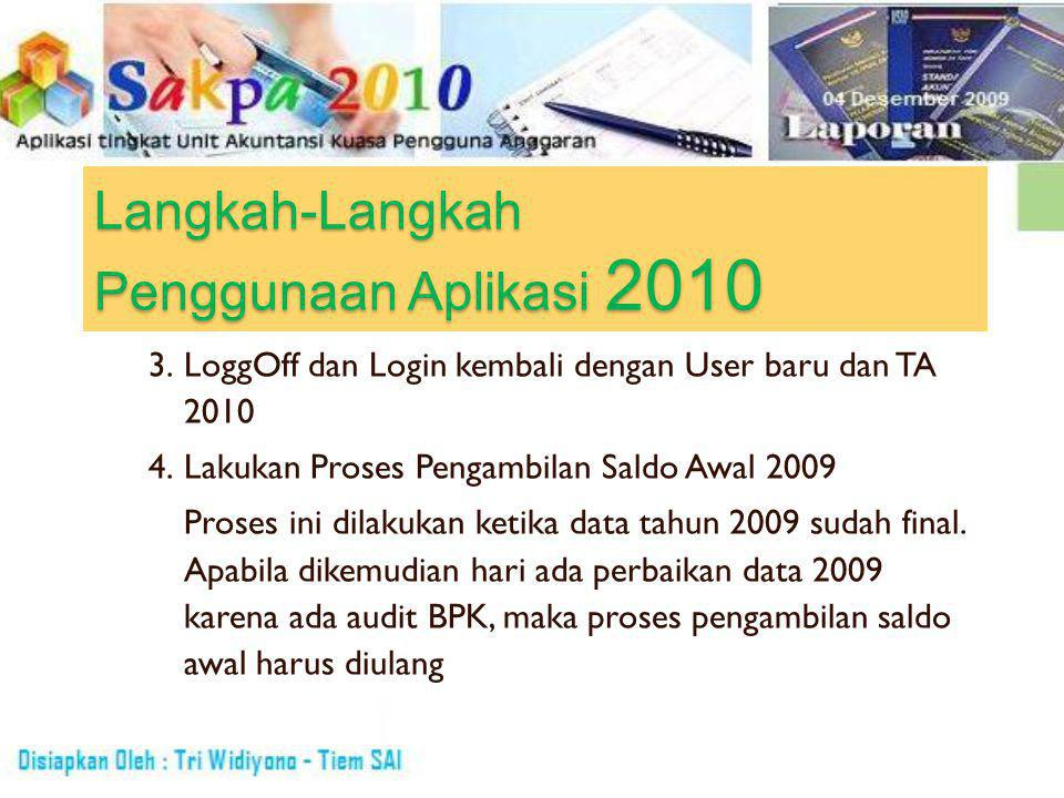UAPPA-W SAPPA-E1 UAPADAPK ADK & Laporan ADK SAKPA Pusat/DK-TP/BLU ADK & Laporan