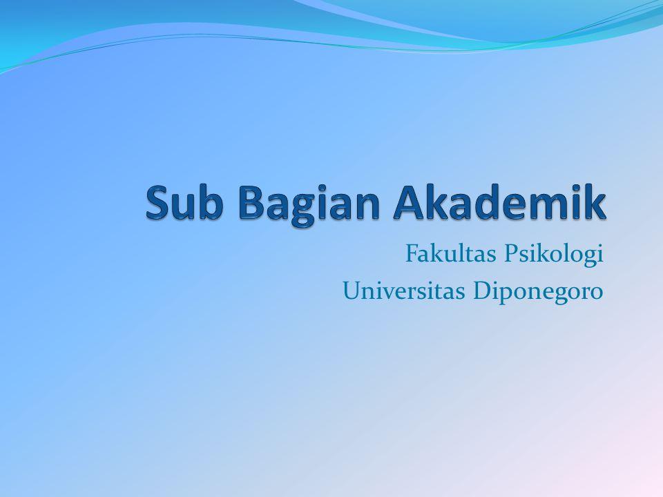 Fakultas Psikologi Universitas Diponegoro