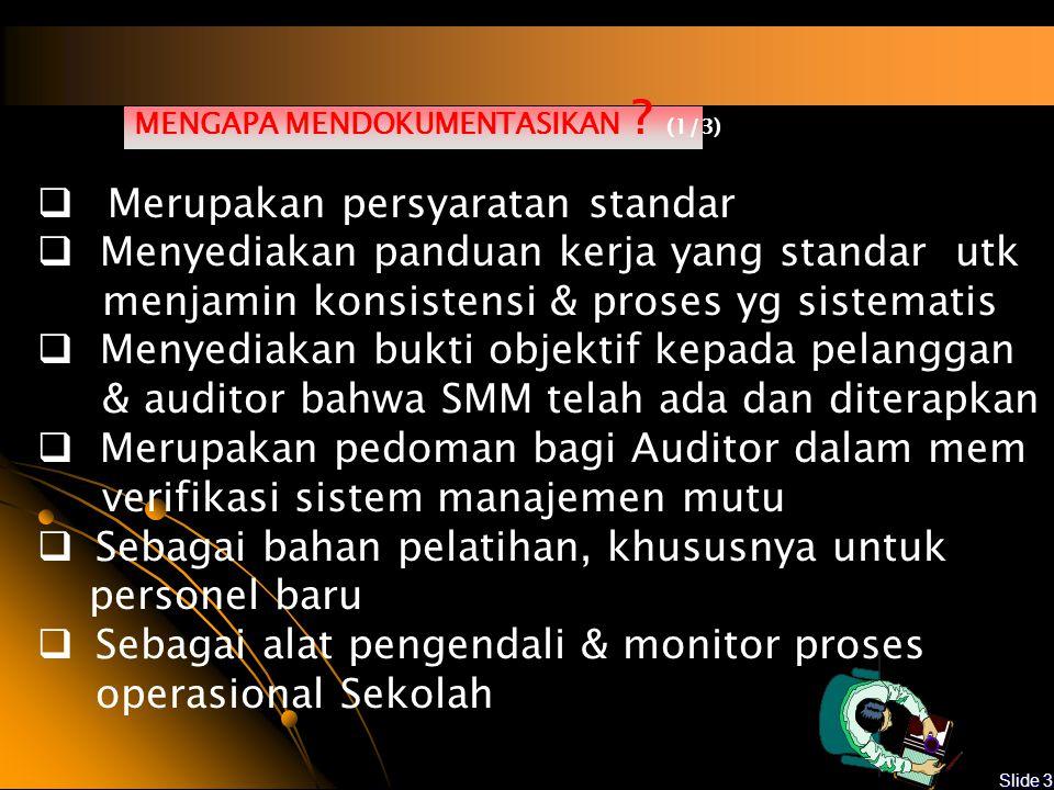 Slide 2 Dokumentasi Sistem Manajemen Mutu