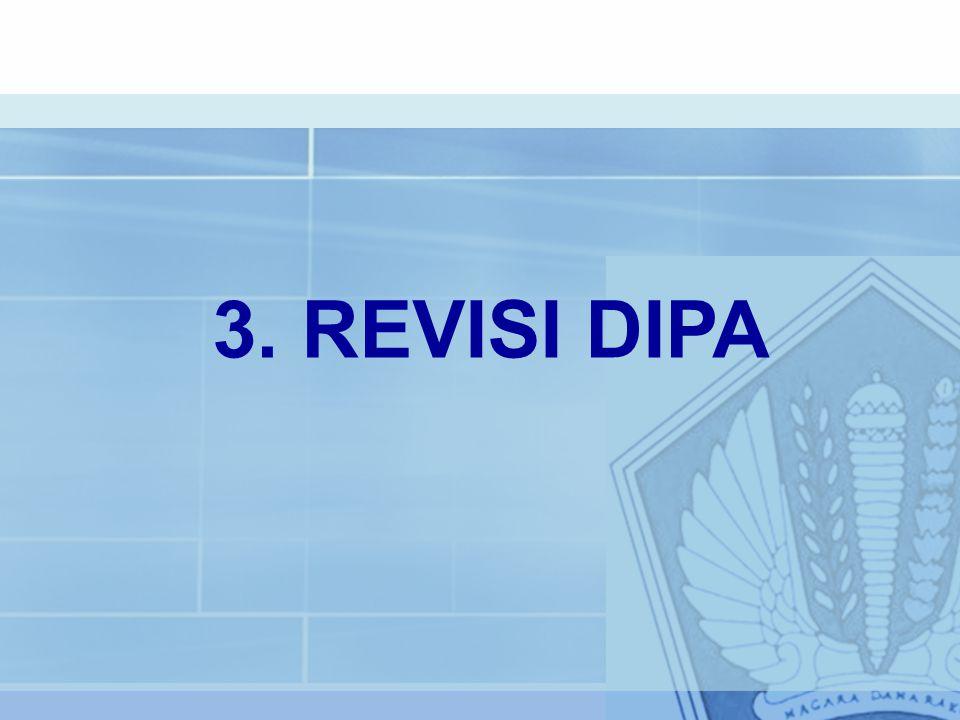 3. REVISI DIPA