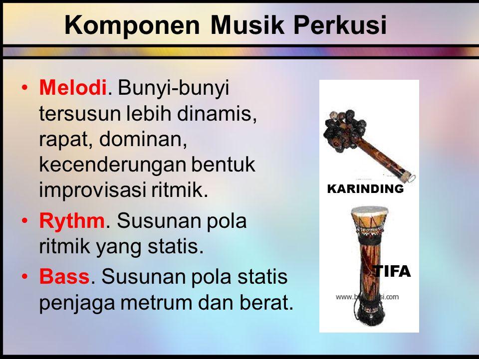Komponen Musik Perkusi Melodi.