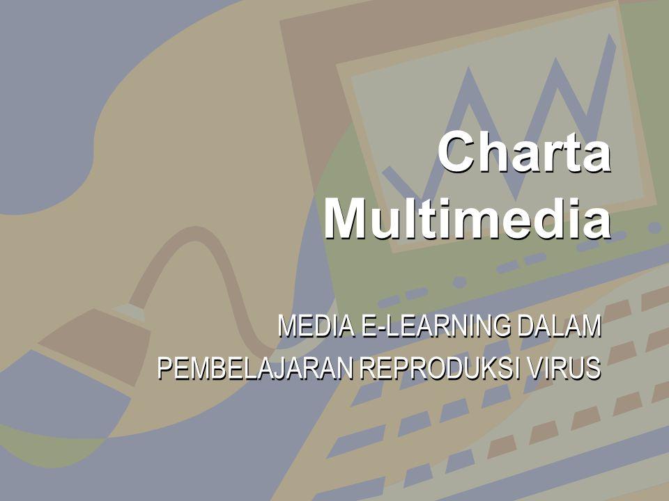 MEDIA E-LEARNING DALAM PEMBELAJARAN REPRODUKSI VIRUS MEDIA E-LEARNING DALAM PEMBELAJARAN REPRODUKSI VIRUS Charta Multimedia Charta Multimedia