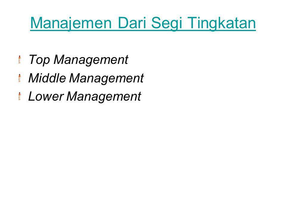 Manajemen Dari Segi Sifat Patrimonial Management Political Management Professional Management