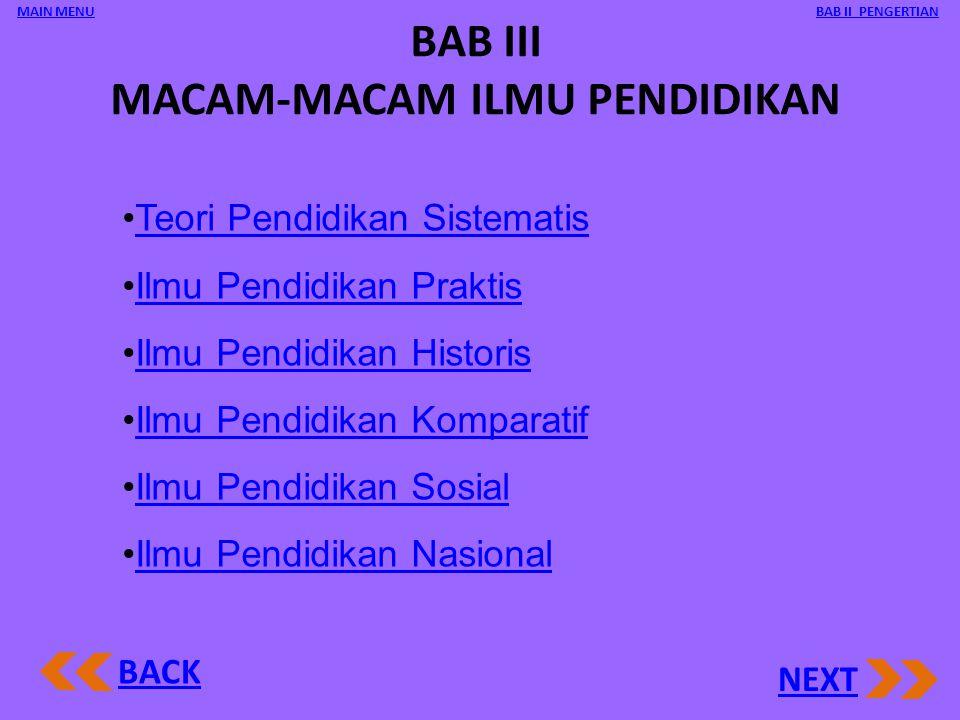 Hal-hal yang perlu diperhatikan dalam pelaksanaan Pendidikan a.Kegunaannya bagi bangsa Indonesia dan umat manusia. b.Perkembangannya secara horisontal