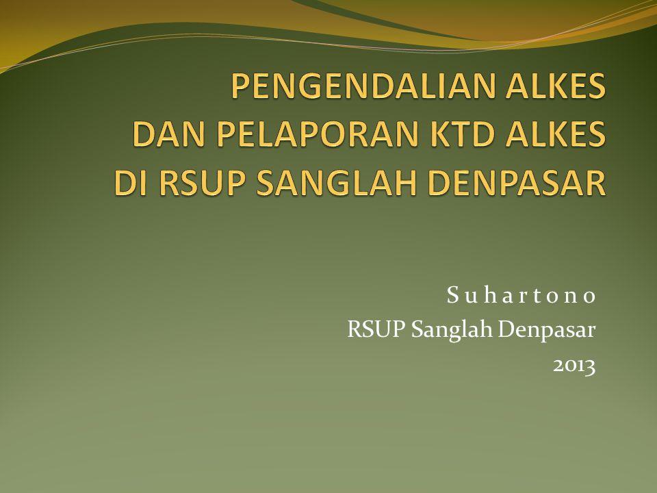 S u h a r t o n o RSUP Sanglah Denpasar 2013