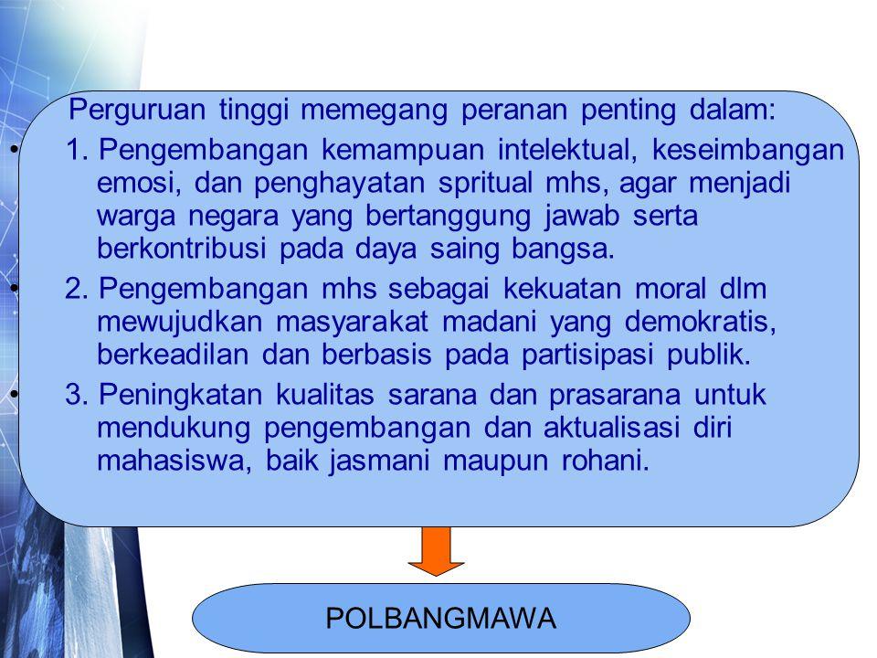 VISI MAHASISWA INDONESIA YANG CERDAS DAN KOMPETITIF
