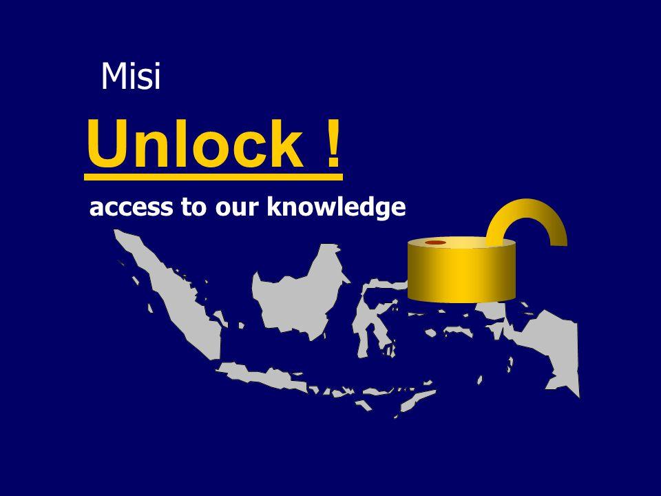 Tantangan Terbesar Berasal dari dalam diri kita sendiri : We LOCK our knowledge, Don't want to UNLOCK it, or Let it LOCKED.