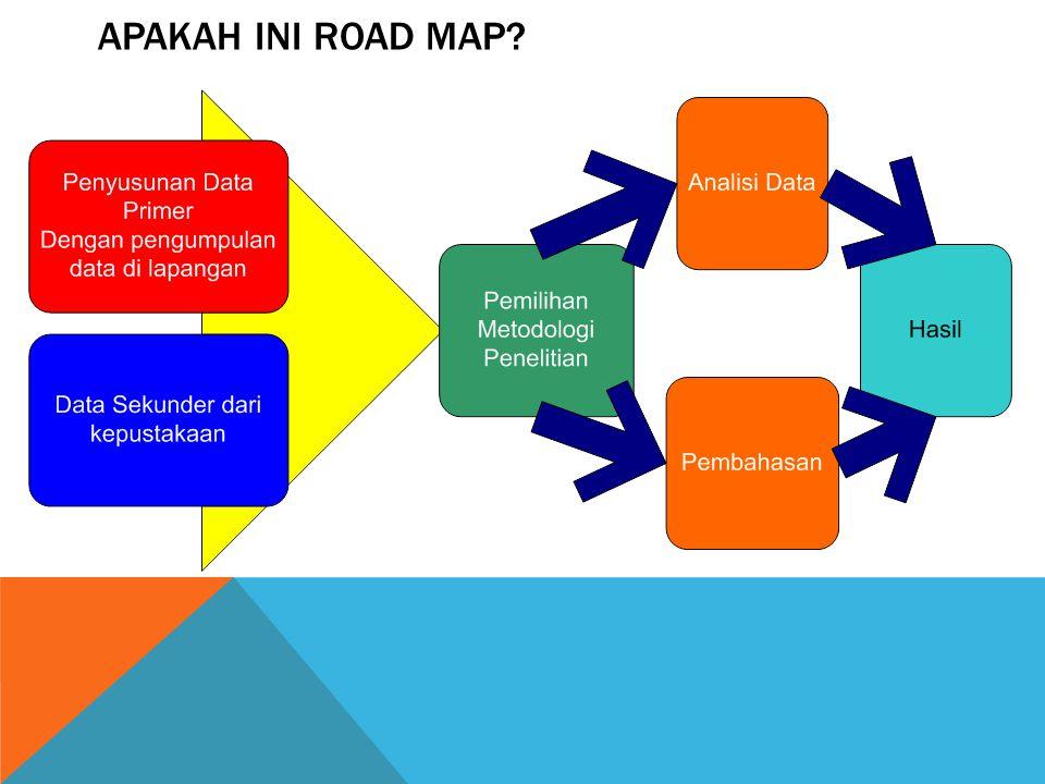 APAKAH INI ROAD MAP?