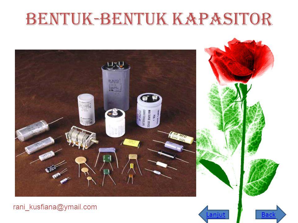 rani_kusfiana@ymail.com Latihan Soal Sebuah kapasitor terbuat dari duat pelat konduktor dengan rapat muatan s.