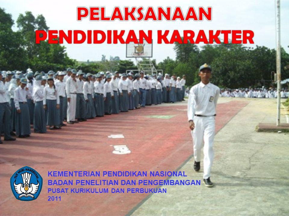KEMENTERIAN PENDIDIKAN NASIONAL BADAN PENELITIAN DAN PENGEMBANGAN PUSAT KURIKULUM DAN PERBUKUAN 2011 1