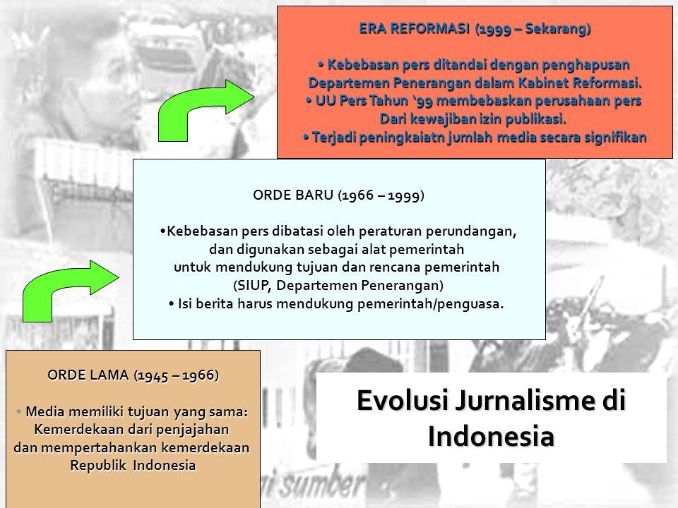 Raker Informasi dan Humas 11 ORDE LAMA (1945 – 1966) Media memiliki tujuan yang sama: Kemerdekaan dari penjajahan dan mempertahankan kemerdekaan Repub