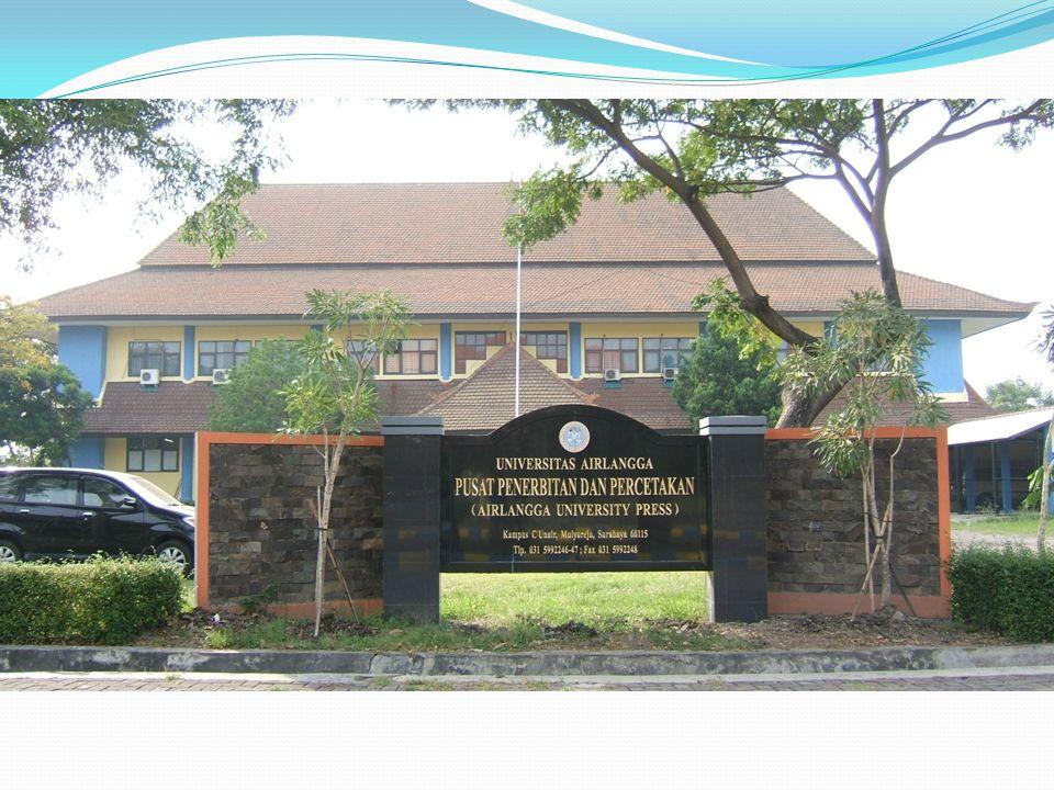 PERUBAHAN STRUKTUR ORGANISASI ORGANISASI AIRLANGGA UNIVERSITY PRESS (AUP) berada di bawah Yayasan Universitas Airlangga ORGANISASI PUSAT PENERBITAN DAN PERCETAKAN UNIVERSITAS AIRLANGGA (PPPUA) sebagai salah satu Unit Kerja di Universitas Airlangga