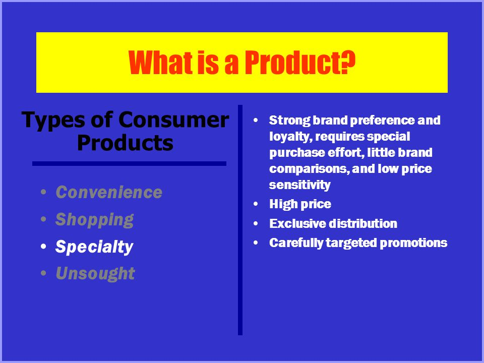 What is a Product.
