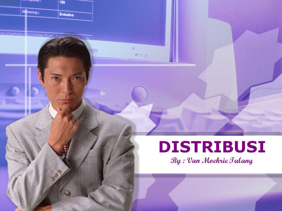 Pengantar Distribusi merupakan bagian dari proses penyaluran barang / jasa dari produsen ke konsumen yang akan menciptakan faedah/nilai guna tempat.