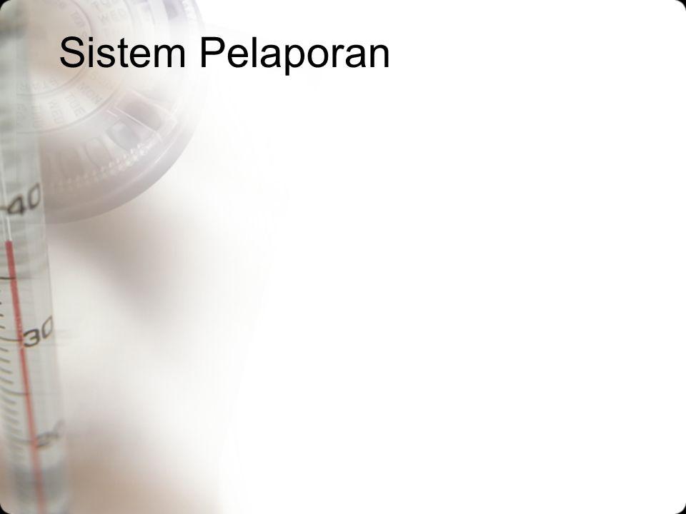 Sistem Pelaporan