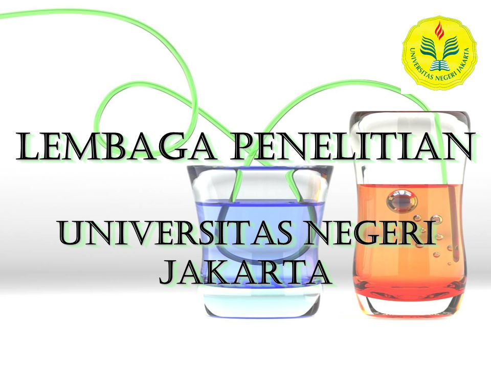 LEMBAGA PENELITIAN UNIVERSITAS NEGERI JAKARTA