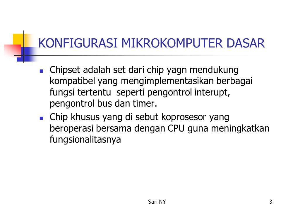Sari NY4 KOMPONEN IBM PC 1.Sistem Kontrol BUS 2. Sistem Kontrol Intrerrupt 3.