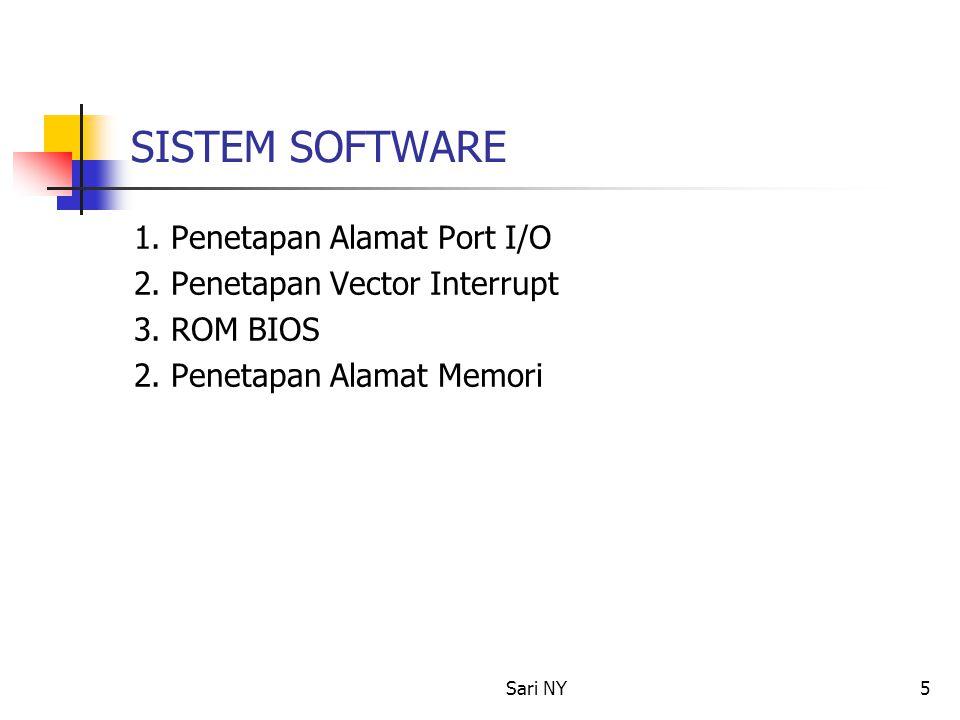 Sari NY6 MANFAAT ARSITEKTURAL ARSITEKTUR PC 1.Kemudahaan penggunaan 2.