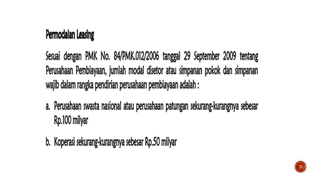 RUANG LINGKUP Peraturan Menteri Keuangan no. 84/PMK.012/2006 4