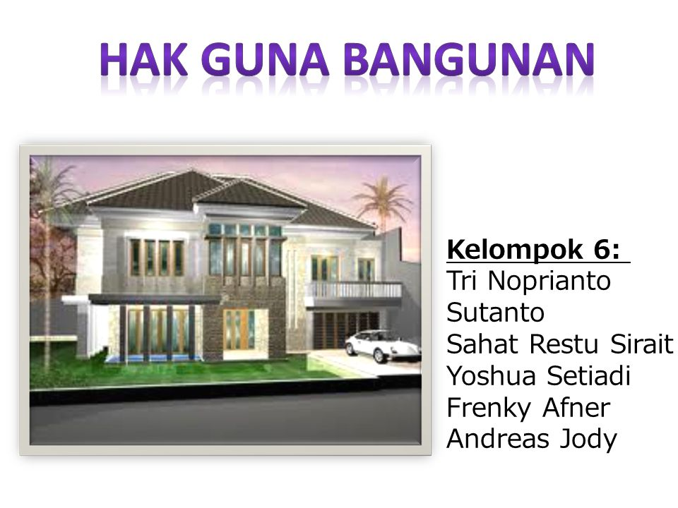 KASUS Perumahan Idaman dibangun pada tanah Hak Guna Bangunan (HGB) atas nama pihak PT Karya Sentosa yang berada di atas HP (Hak Pengelolaan atas nama Pemda DKI Jakarta).